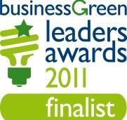 Finalist - Business Green Leaders Awards 2011